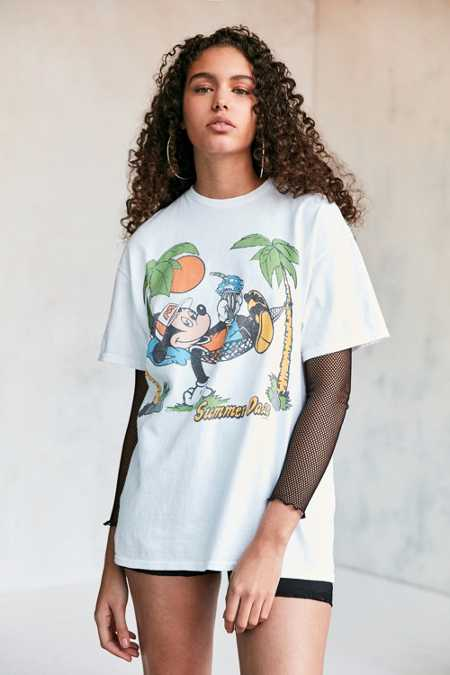 Junk Food Mickey Summer Daze Tee