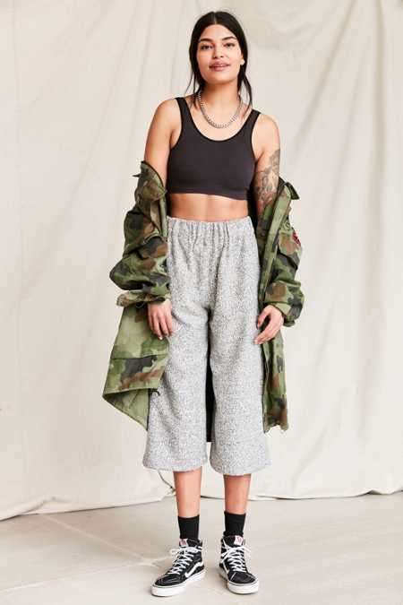 Urban Renewal Remade Textured Culotte Pant