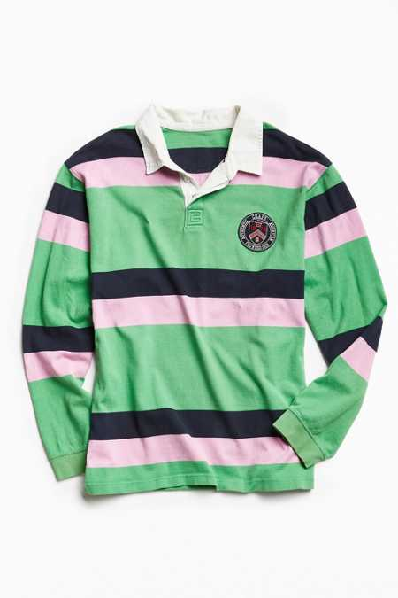 Vintage Chaps Striped Rugby Shirt