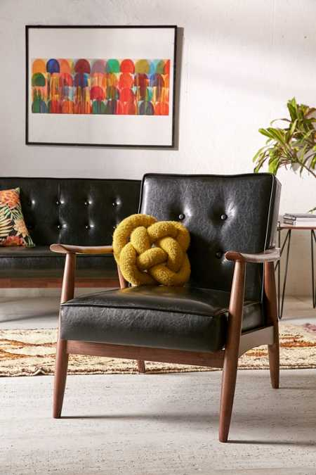 Wyatt Vegan Leather Chair