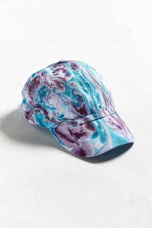 Hand Dyed Baseball Hat,MULTI,ONE SIZE