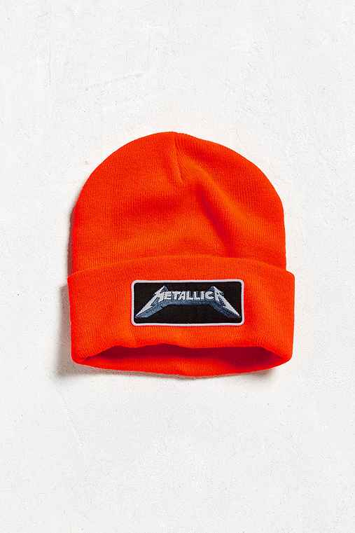 Metallica Beanie,ORANGE,ONE SIZE