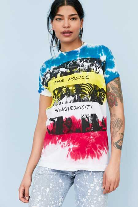 The Police Synchronicity Tie-Dye Tee