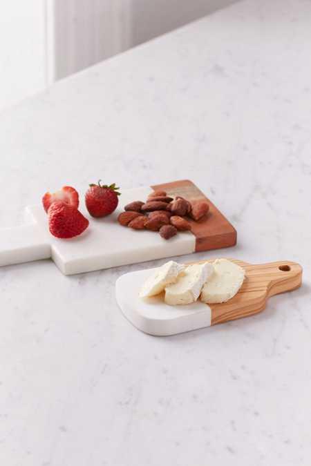 Inlaid Marble Cutting Board Set