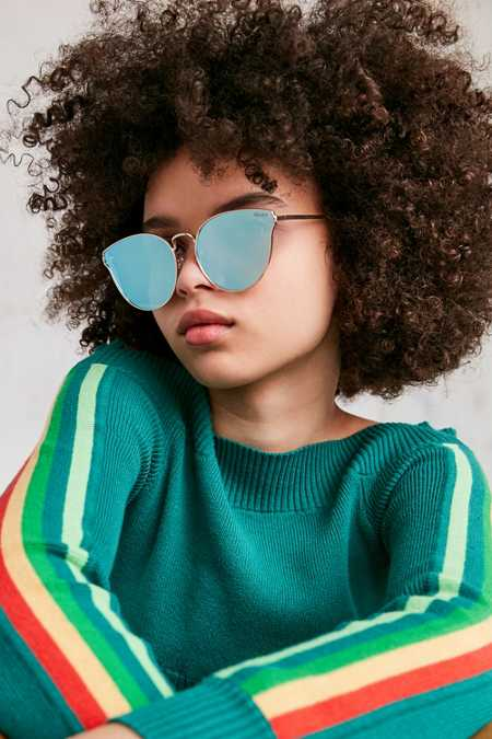 Quay All My Love Cat-Eye Sunglasses