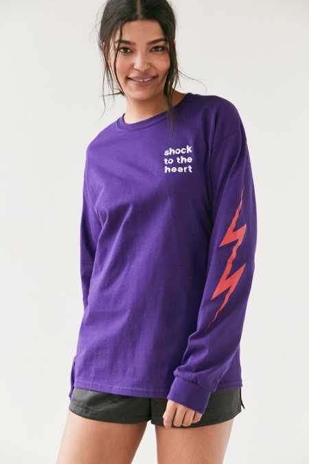 Altru Apparel Shock To The Heart Long-Sleeve Tee