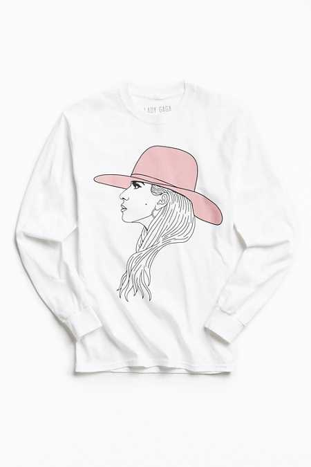 Lady Gaga Sketch Long Sleeve Tee