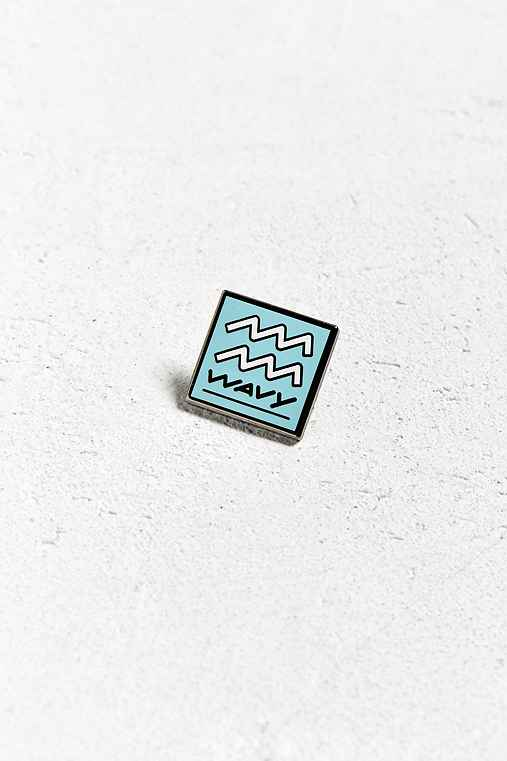 Pintrill Aquarius Pin,BLUE,ONE SIZE