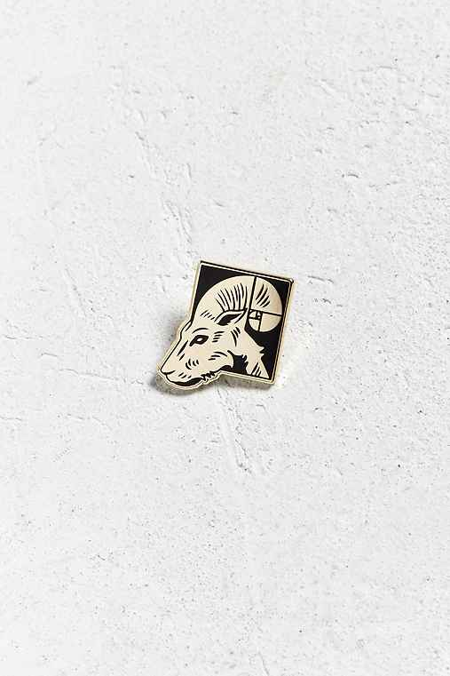 Pintrill Aries Pin,GOLD,ONE SIZE