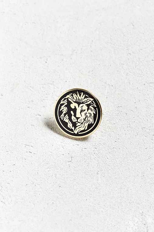 Pintrill Leo Pin,GOLD,ONE SIZE