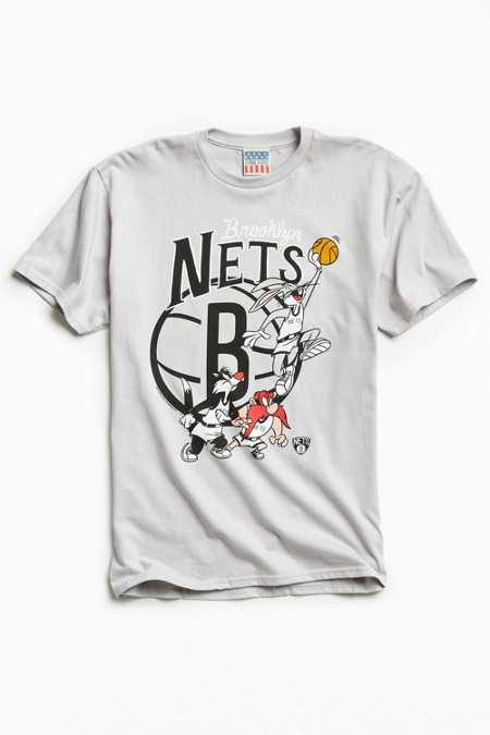 Junk Food Looney Tunes Brooklyn Nets Tee