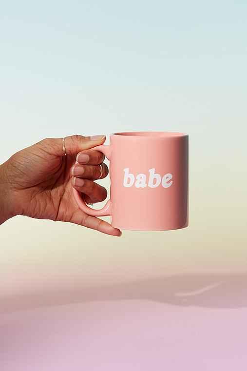 Babe Mug,PINK,ONE SIZE
