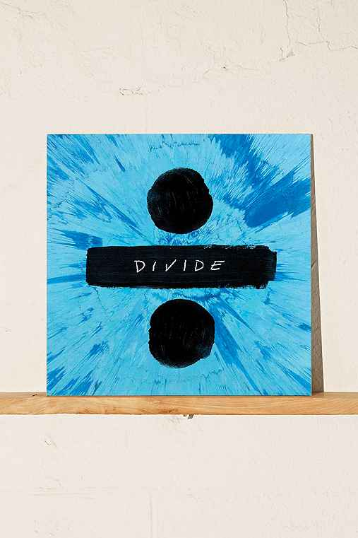 Ed Sheeran - Divide LP,BLACK,ONE SIZE