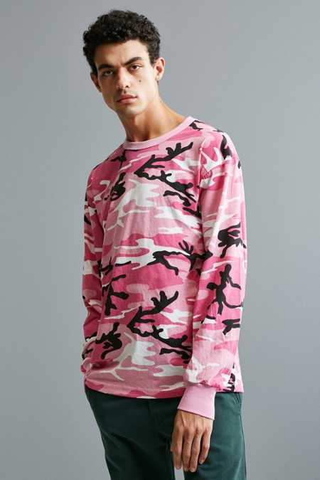 Rothco Camo Long Sleeve Tee