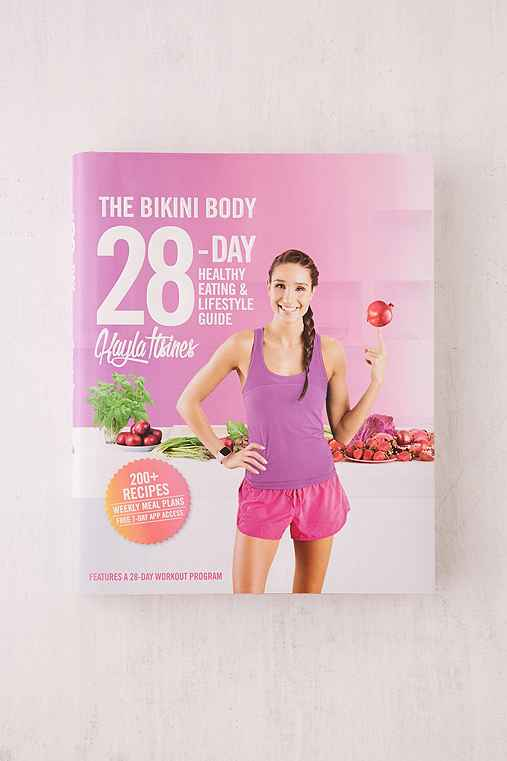 The Bikini Body 28-Day Healthy Eating & Lifestyle Guide By Kayla Itsines,ASSORTED,ONE SIZE