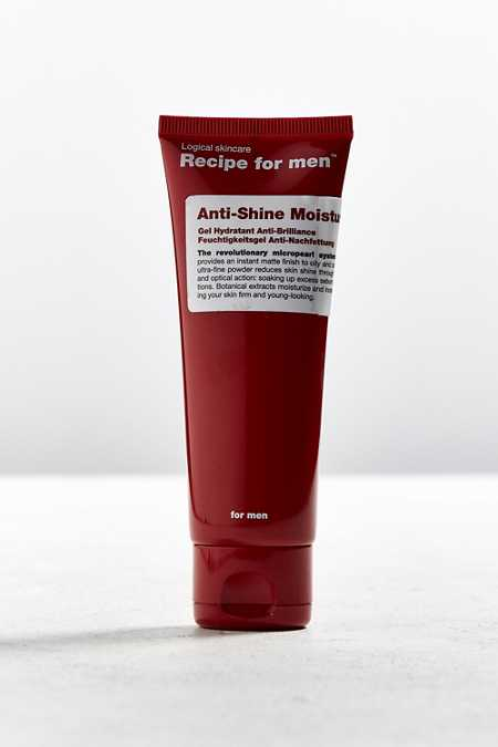 Recipe For Men Anti-Shine Moisturizer