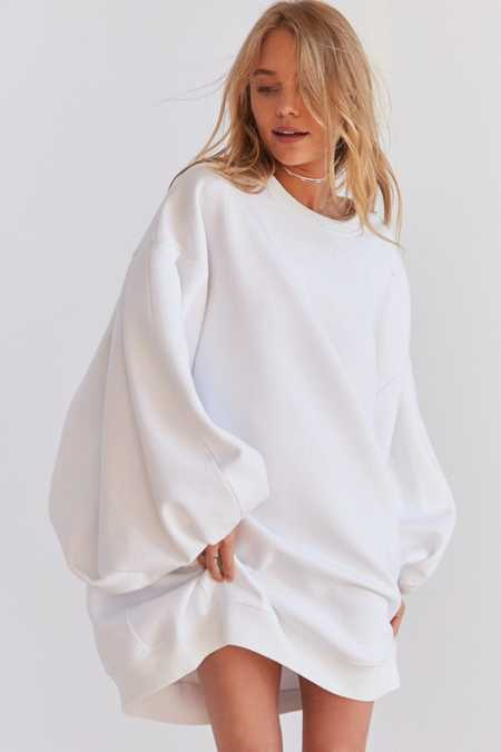 Silence + Noise Anna Oversized Sweatshirt Dress