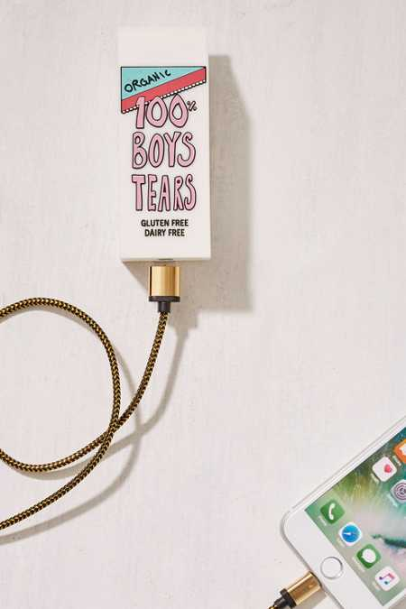 Valfre Boys Tears Portable Power Charger
