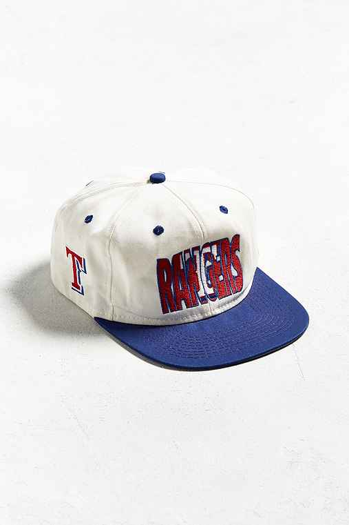 Vintage Texas Rangers Snapback Hat,WHITE,ONE SIZE