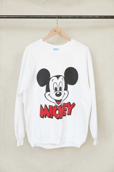 Vintage '80s Mickey Mouse Crew Neck Sweatshirt