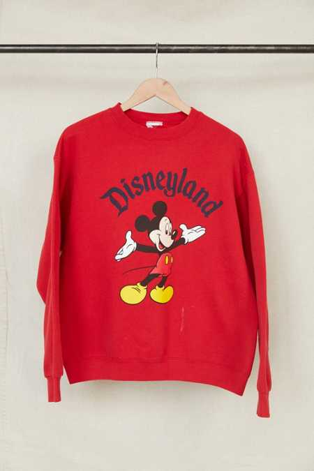 Vintage Disneyland Mickey Mouse Crew Neck Sweatshirt
