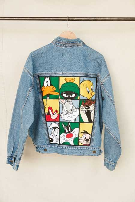 Vintage Looney Tunes Denim Jacket