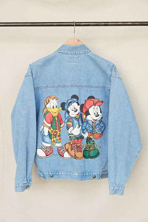 Vintage Mickey + Friends Denim Jacket