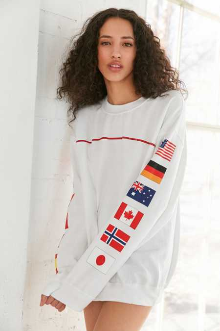 Hinds Flag Crew-Neck Sweatshirt