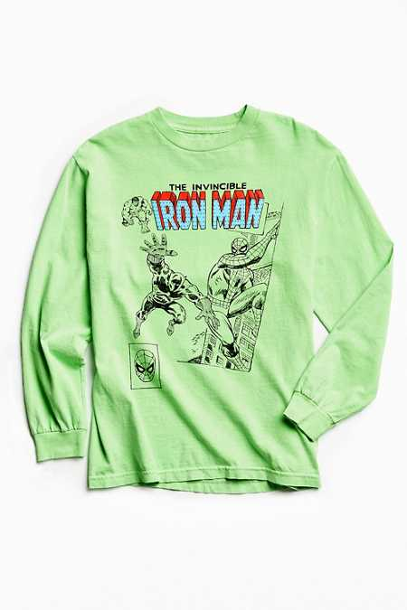 Kostas Seremetis X Marvel Iron Man Long Sleeve Tee