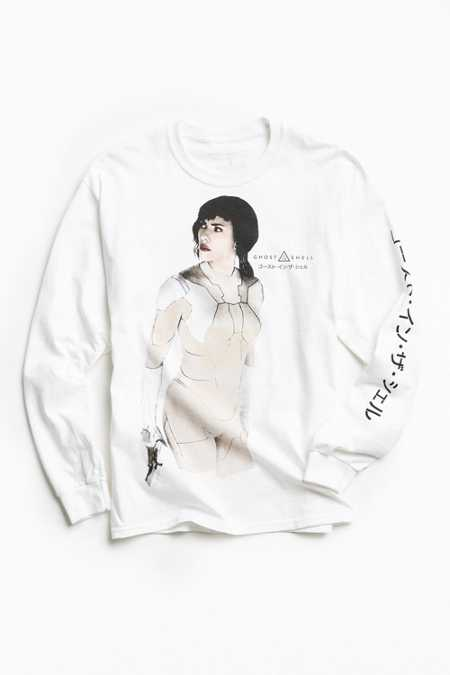Ghost In The Shell Long Sleeve Tee