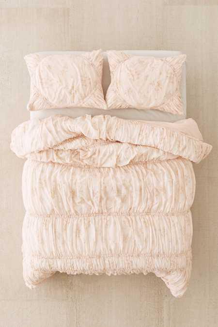 Rita Floral Ruffle Comforter