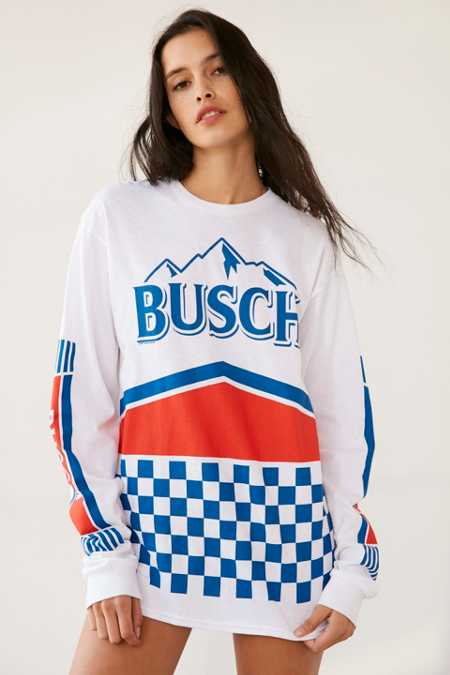 Junk Food Busch Racing Long Sleeve Tee
