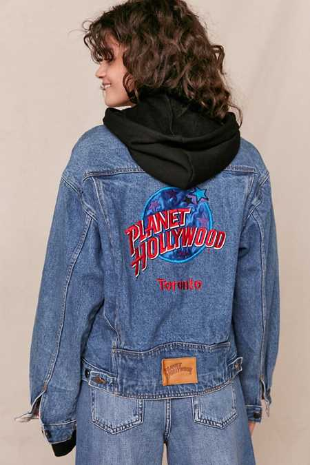 Vintage Planet Hollywood Toronto Denim Jacket