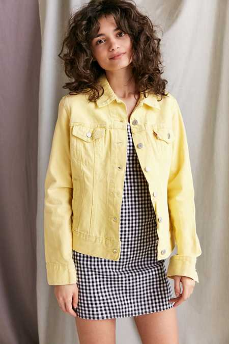 Vintage Levi's Yellow Denim Jacket