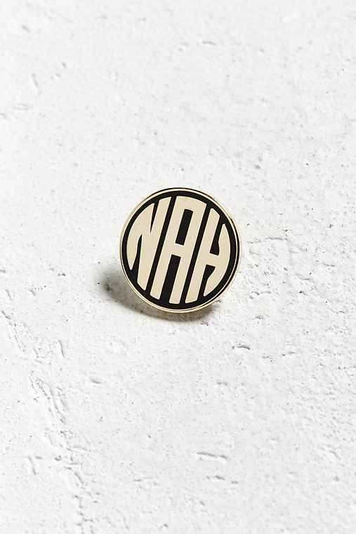 Bracelegs Collective X Day Party Nah Pin,GOLD,ONE SIZE