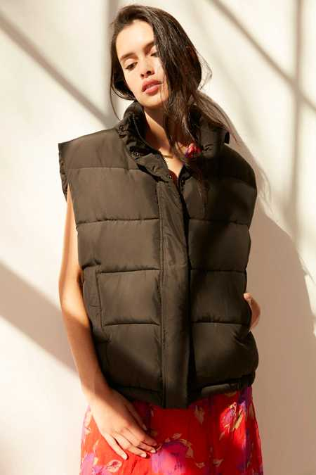 Light Before Dark Sleeveless Puffer Vest