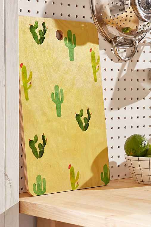 Hello Sayang for DENY Cactus Madness Cutting Board,MULTI,ONE SIZE