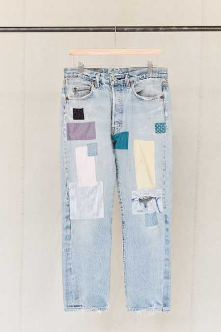 Vintage Levi's Printed Patched Jean