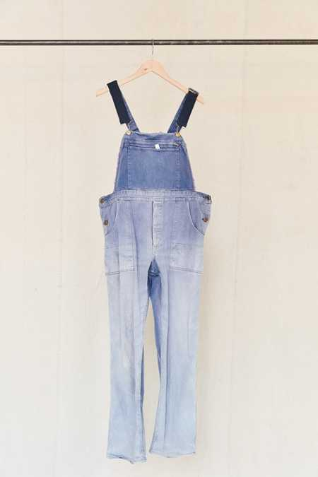 Vintage Washed Purple Workwear Overall