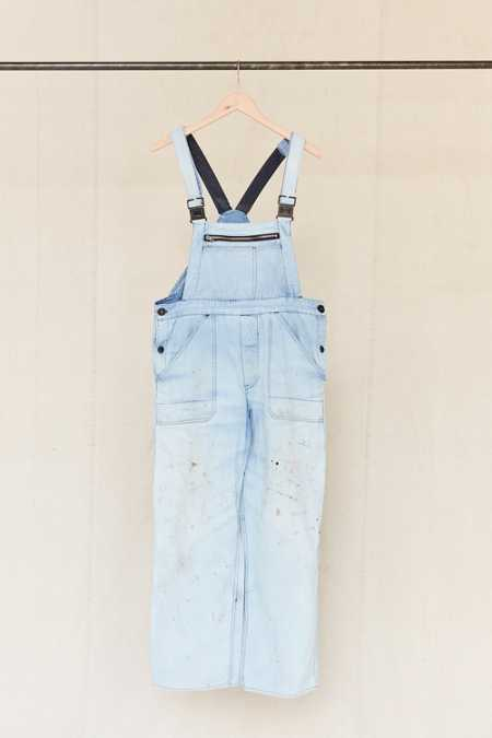 Vintage Light Blue Workwear Overall