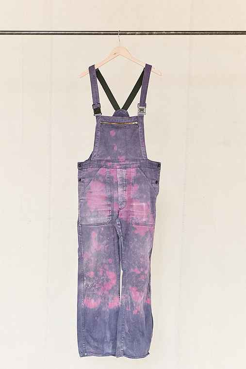 Vintage Purple + Pink Washed Out Overall