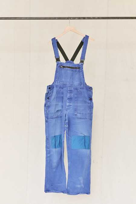 Vintage Bright Purple Workwear Overall