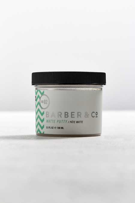 Barber & Co. No. 02 Matte Putty