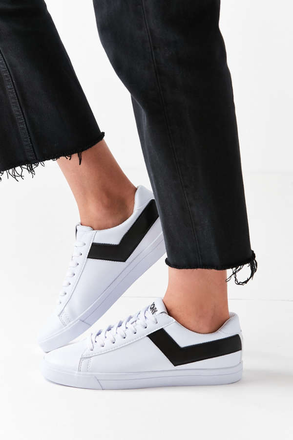 Pony Topstar Low Faux Leather Sneaker Urban Outfitters