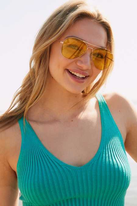 Costa Translucent Aviator Sunglasses