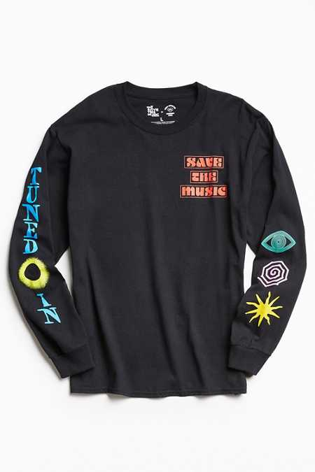 UO + VH1 Save The Music Foundation Long Sleeve Tee
