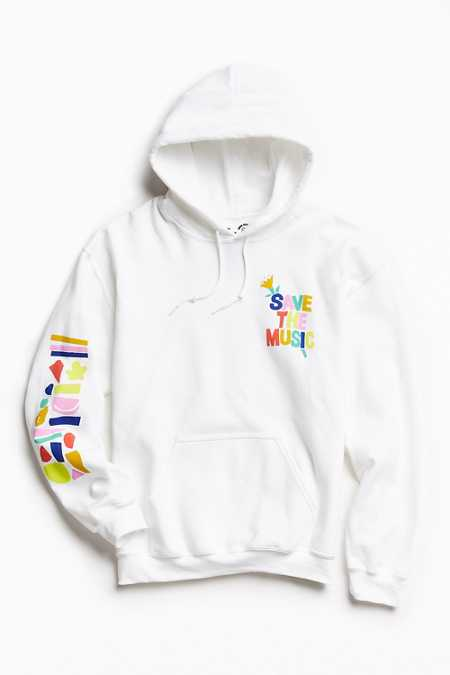 UO + VH1 Save The Music Foundation Hoodie Sweatshirt