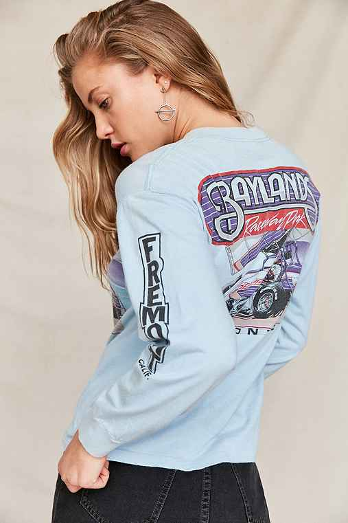 Vintage '90s Baylands Racing Long Sleeve Tee,ASSORTED,ONE SIZE
