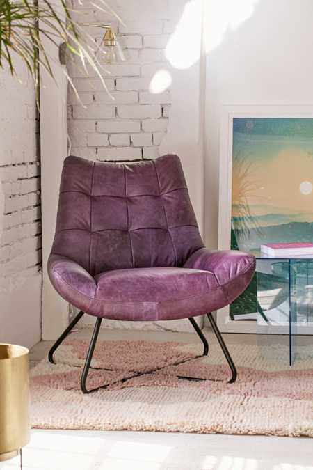 Seymour Leather Chair