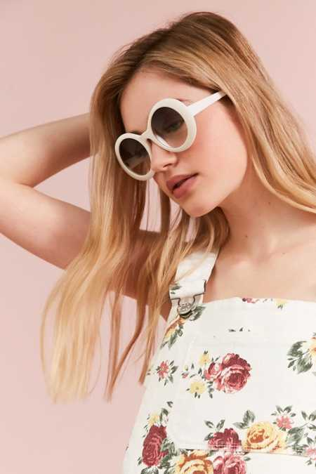 Edie Retro Round Sunglasses